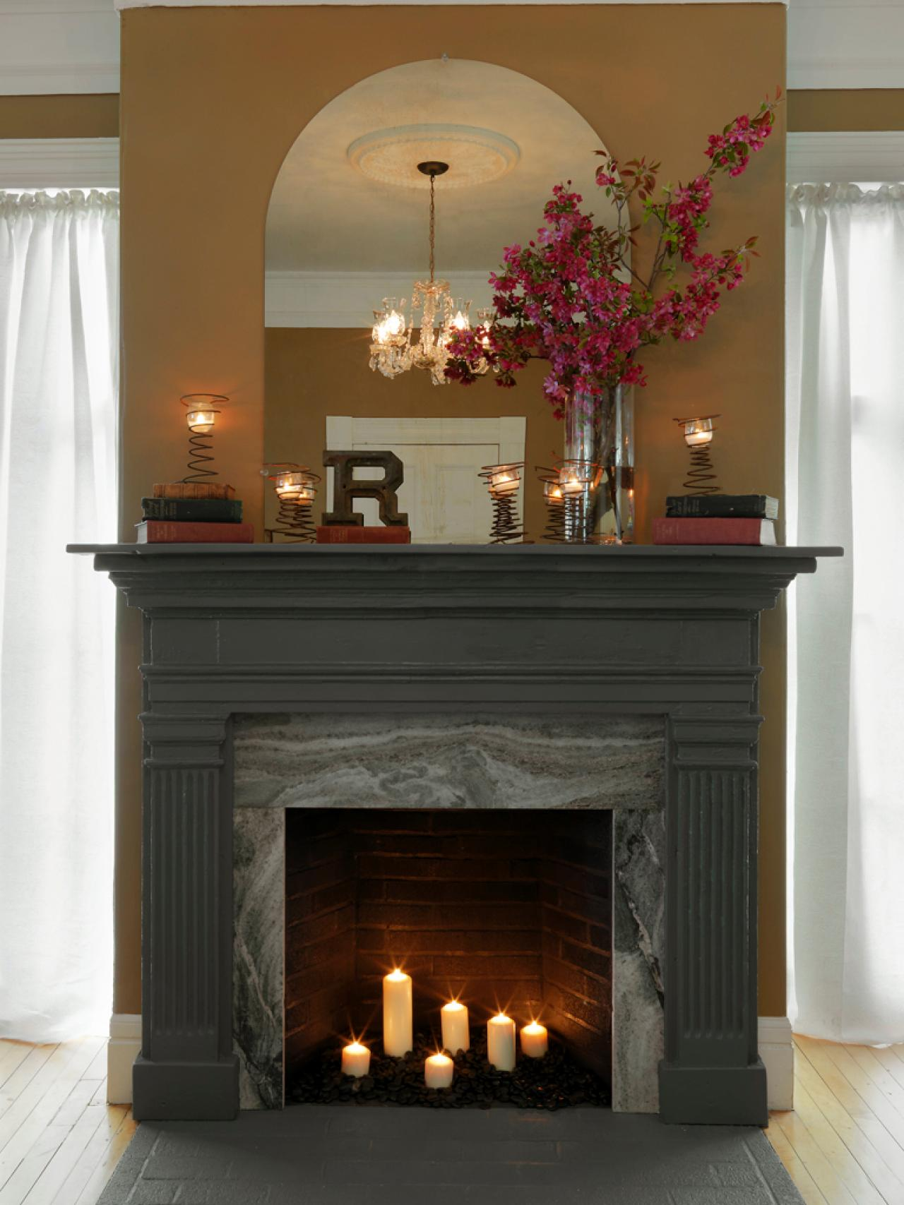 Diy fireplace mantel surround fireplace design ideas for Diy fireplace remodel ideas