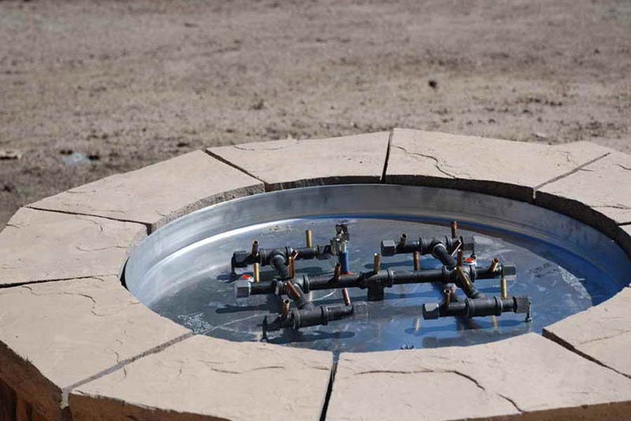 DIY Gas Fire Pit Parts