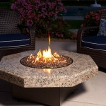 DIY Glass Fire Pit