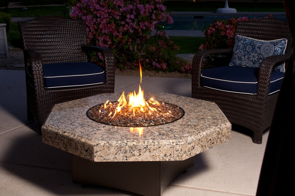 DIY Glass Fire Pit - DIY Glass Fire Pit FIREPLACE DESIGN IDEAS