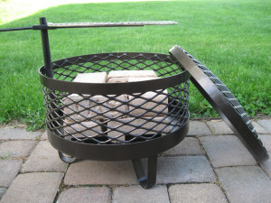 DIY Movable Fire Pit