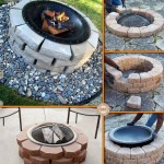 DIY Outdoor Fire Pit Instructions