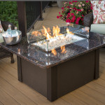 DIY Outdoor Fire Pit Table