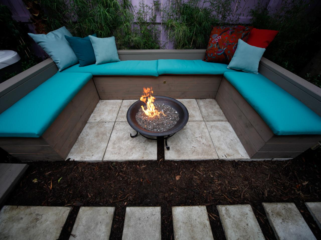 DIY Outdoor Fire Pit Table FIREPLACE DESIGN IDEAS