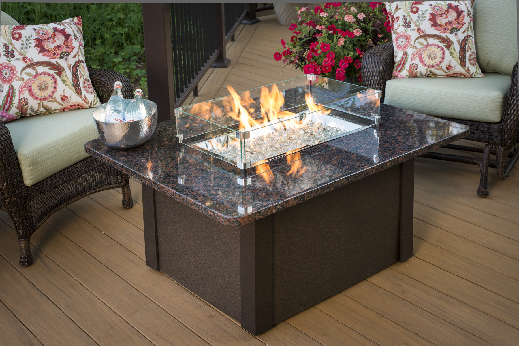Superbe DIY Outdoor Fire Pit Table