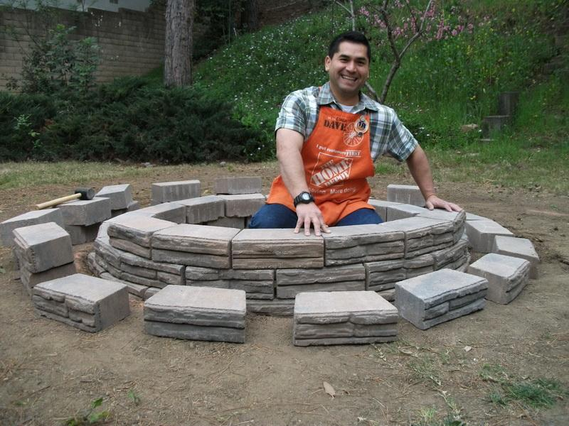 ... Garden Design With DIY Backyard Fire Pit: Homemade Ideas To Build  Outdoor Fire Pits With