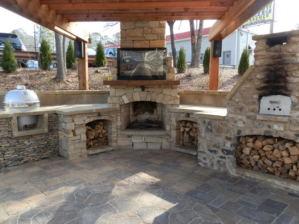 pit plans outdoor backyards fire diy fun ideas designs fireplace brick landscaping design