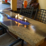 DIY Portable Glass Fire Pit