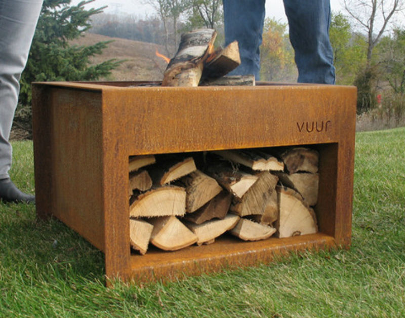 DIY Portable Wood Burning Fire Pit