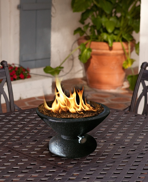 Ambient Design Ideas For Table Top Fire Pits Fireplace