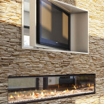 Double Sided Fireplace Indoor Outdoor Fireplace Design Ideas