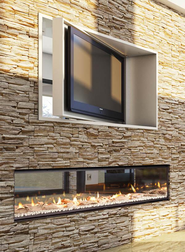 Indoor Outdoor Gas Fireplace