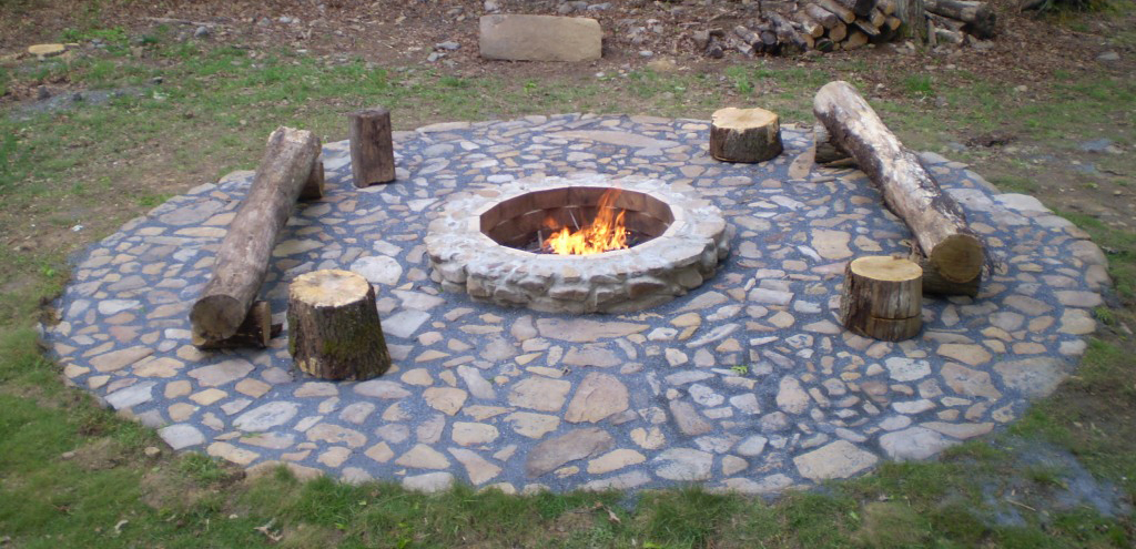 facts about easy fire pit easy backyard fire pit designs