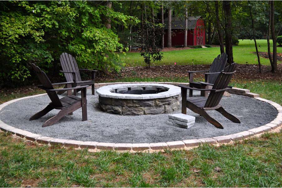 garden design with easy backyard fire pit designs fireplace design ideas with backyard firepit ideas from - Outdoor Fire Pit Design Ideas