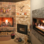 Electric Fireplace Stone Surround