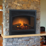 Electric Logs for Fake Fireplace