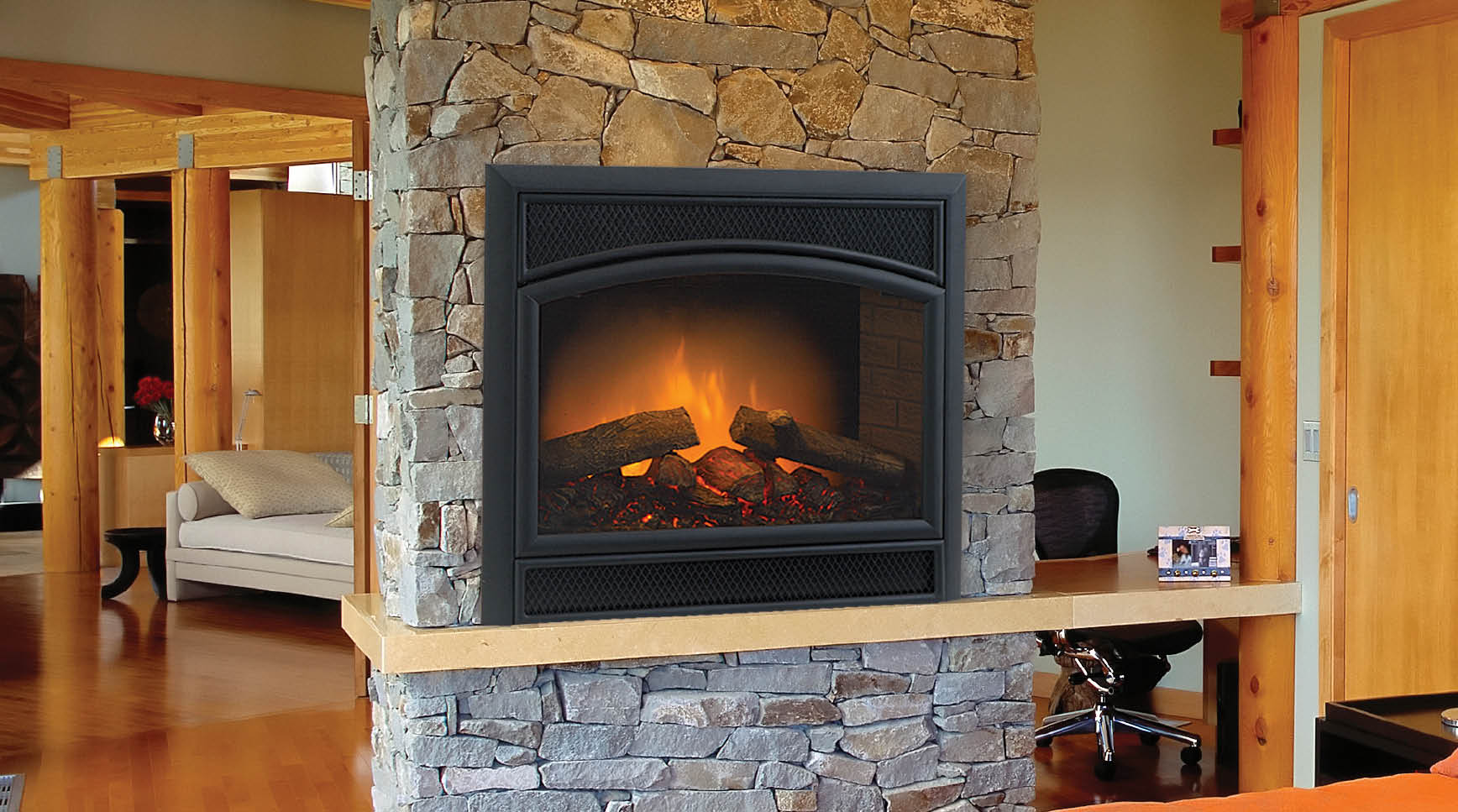 Start Using Fake Fireplace Logs And Go Green FIREPLACE