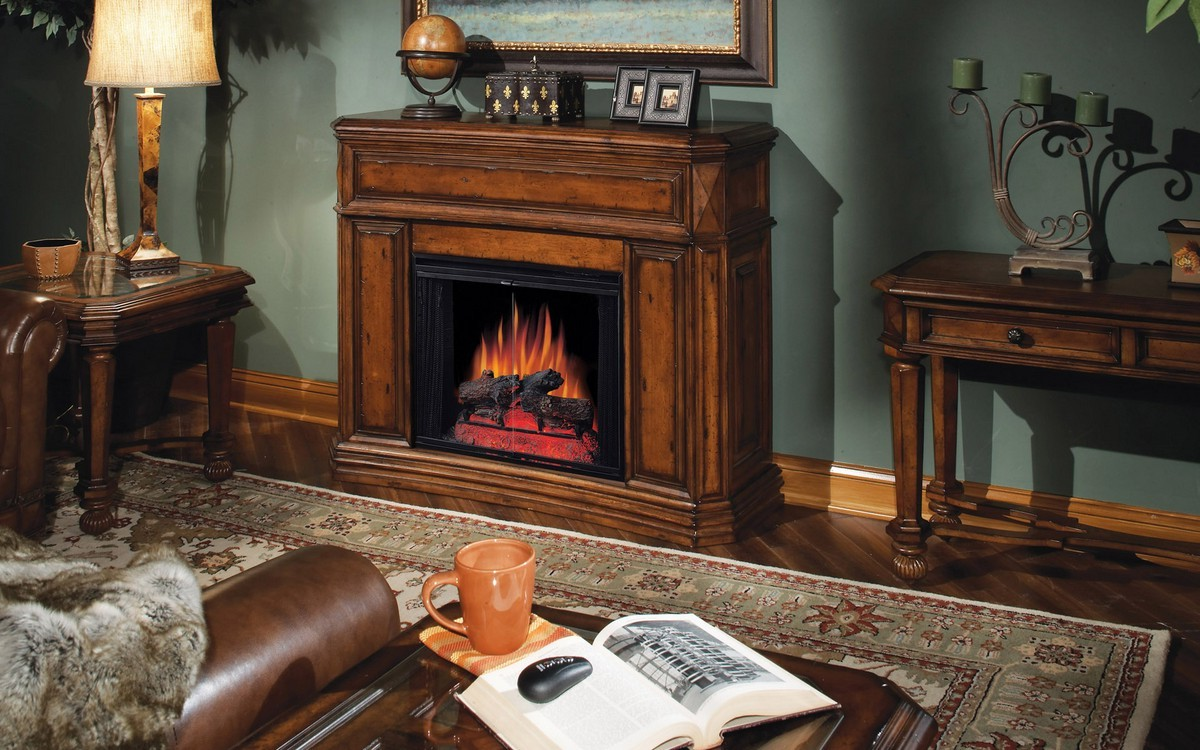 Didn't get a fake fireplace heater still? | FIREPLACE ...