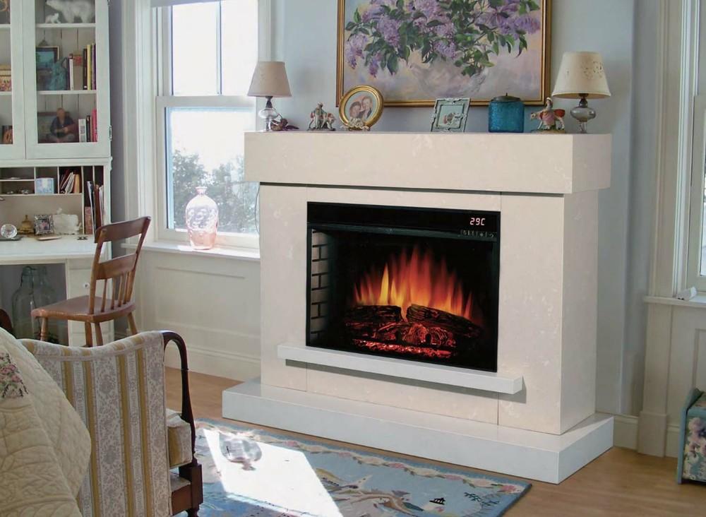 Didn T Get A Fake Fireplace Heater Still Fireplace