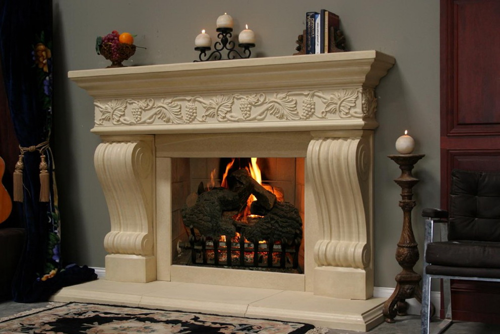 Fake Fireplace Mantel Kits