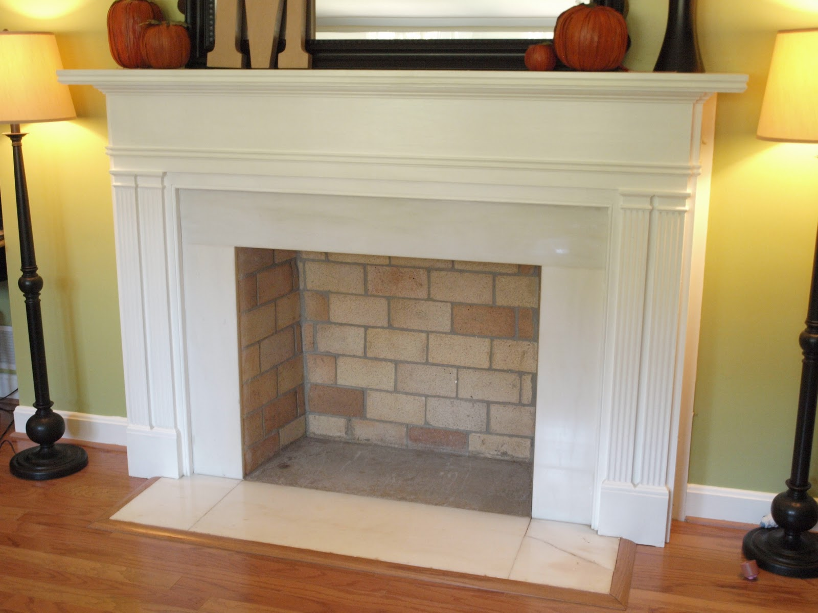 Create Your Own Custom Made Fake Fireplace Mantel