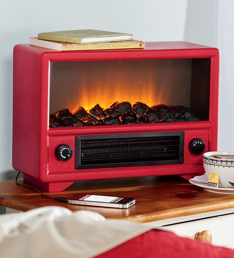 Didnt Get A Fake Fireplace Heater Still FIREPLACE