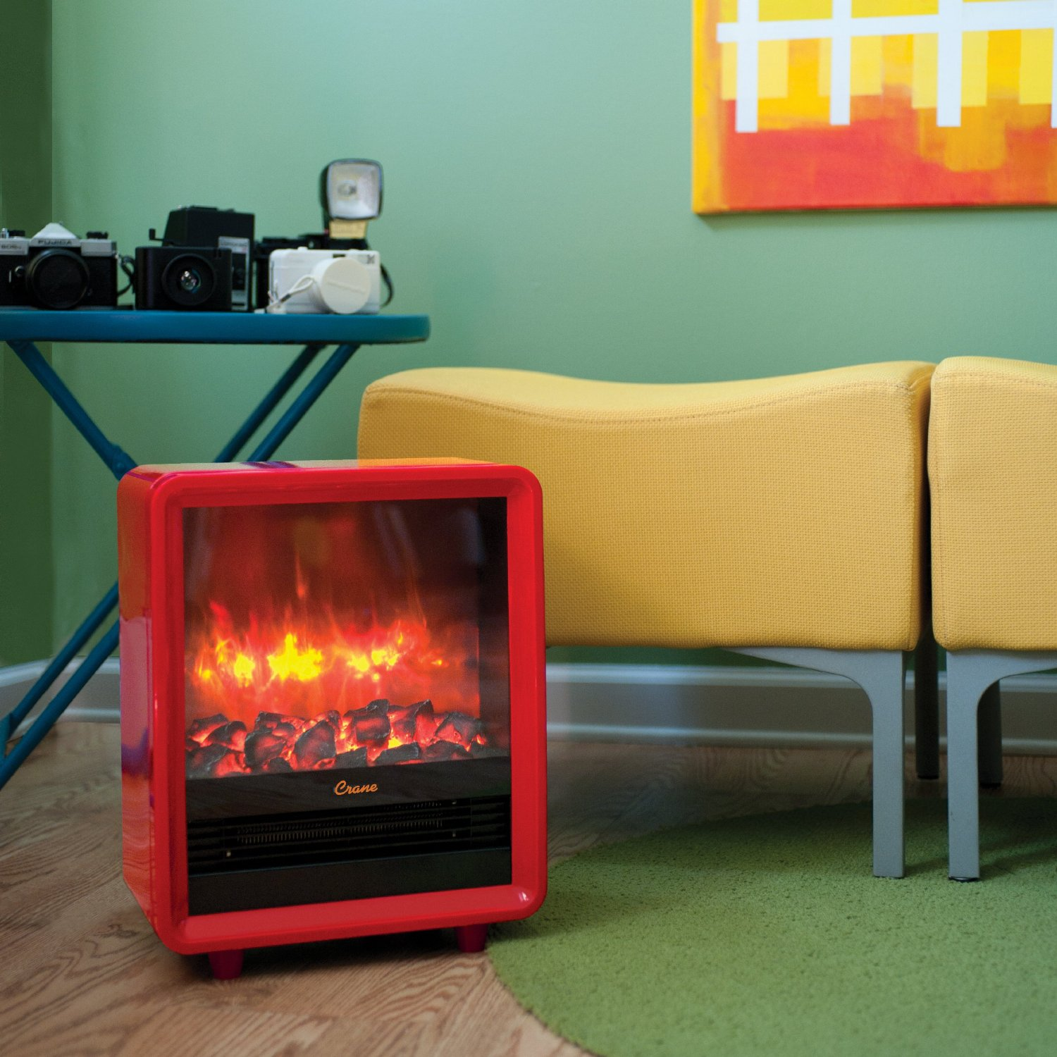 Fake FireplaceSpace Heater