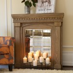 Fake Fireplace with Mantel