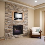 Fake Stone Fireplace