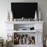 Faux Fireplace Mantel DIY