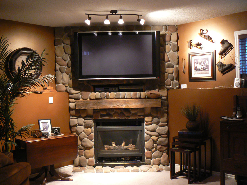 Faux Fireplace Mantel Ideas