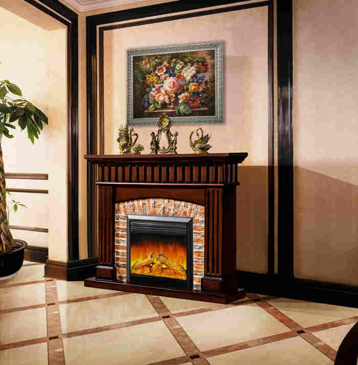 Faux Stone Fireplace Is A Budget Solution For Your Home Fireplace Design Ideas