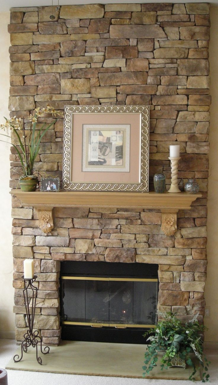 faux stone veneer fireplace fireplace design ideas