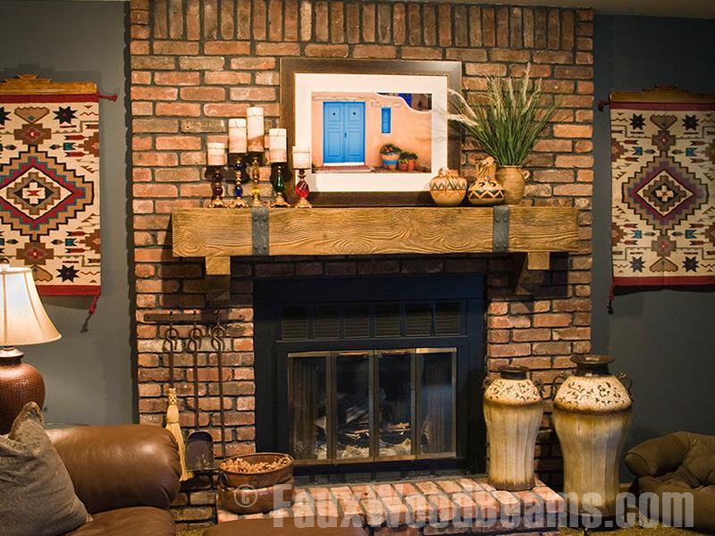 Faux Wood Fireplace Mantel FIREPLACE DESIGN IDEAS