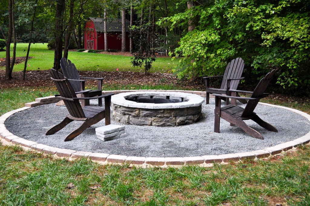 Fire Pit Bench
