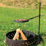 Fire Pit Cooking Grate Cast Iron