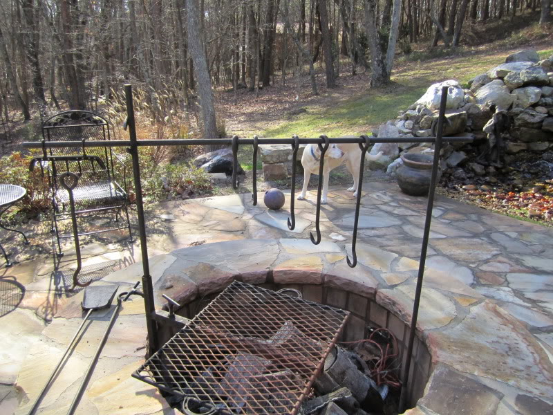 Fire Pit Cooking Rack