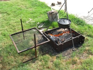 Fire Pit Cooking Tripod