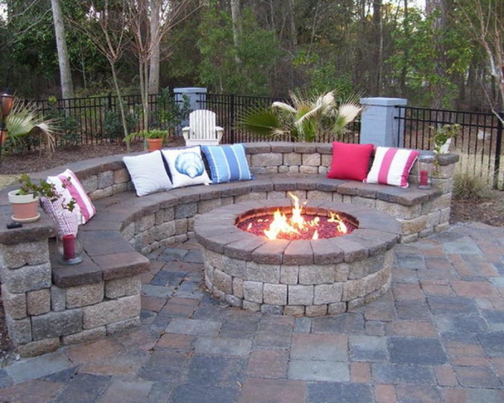 Fire Pit For Small Patio Fireplace Design Ideas