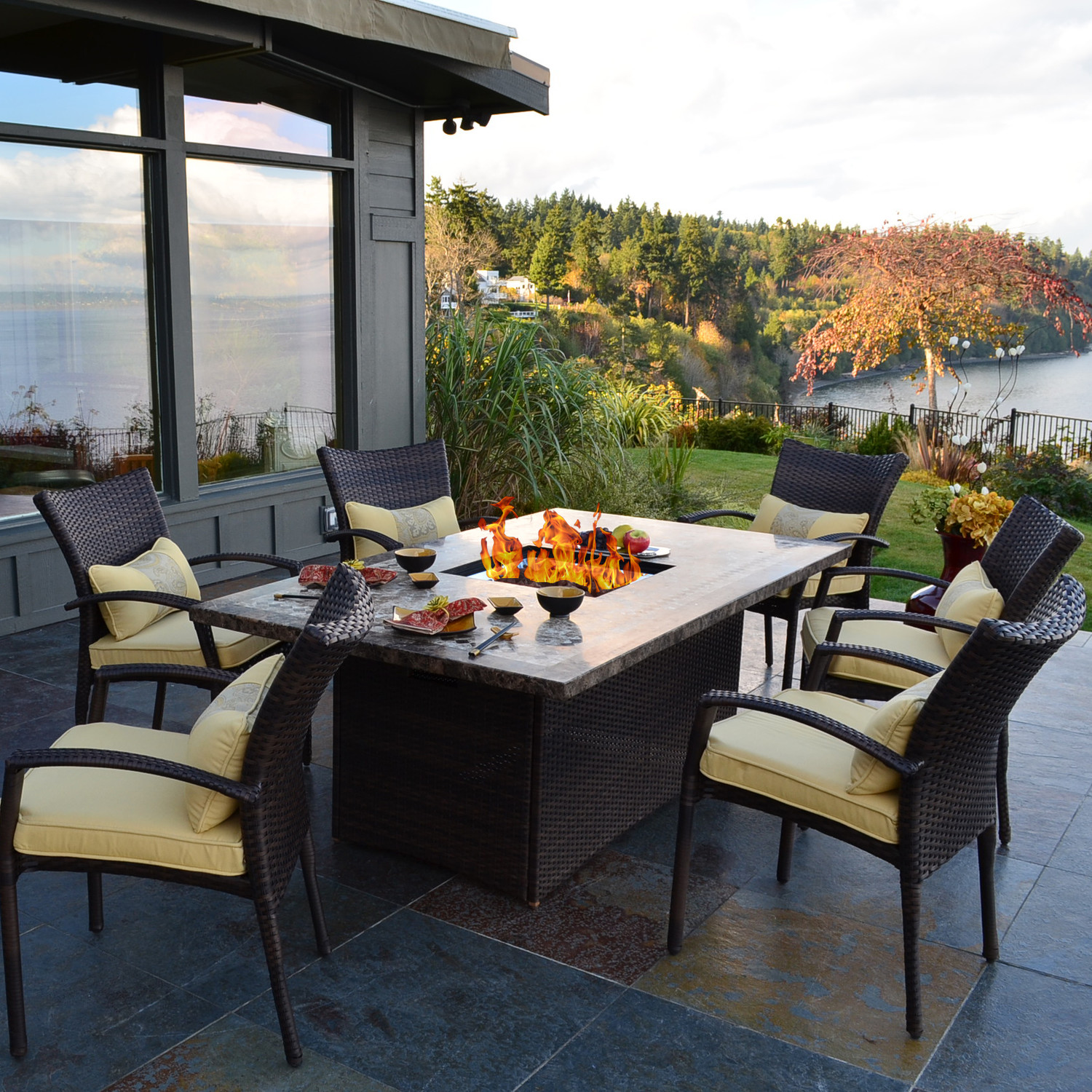 Fire Pit Furniture Sets