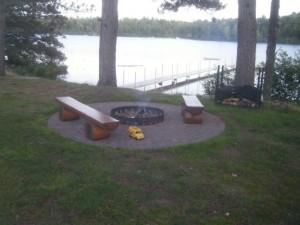 Fire Pit Metal Ring