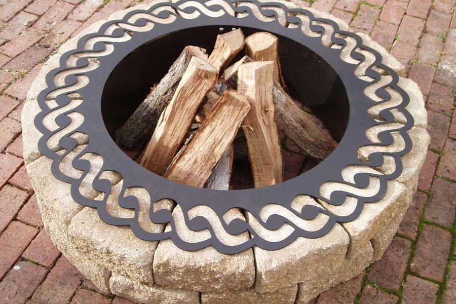 Fire Pit Metal Ring Insert Fireplace Design Ideas
