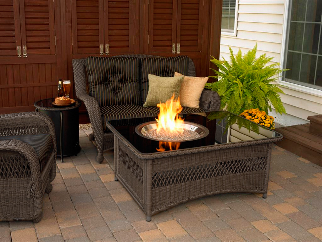 patio furniture with fire pit pit outdoor furniture sets fireplace design ideas 29218