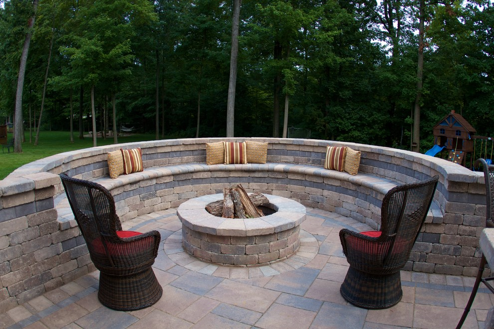 Fire pit seating fireplace design ideas