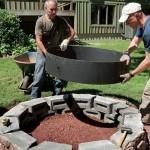 Fire Pit Steel Liner