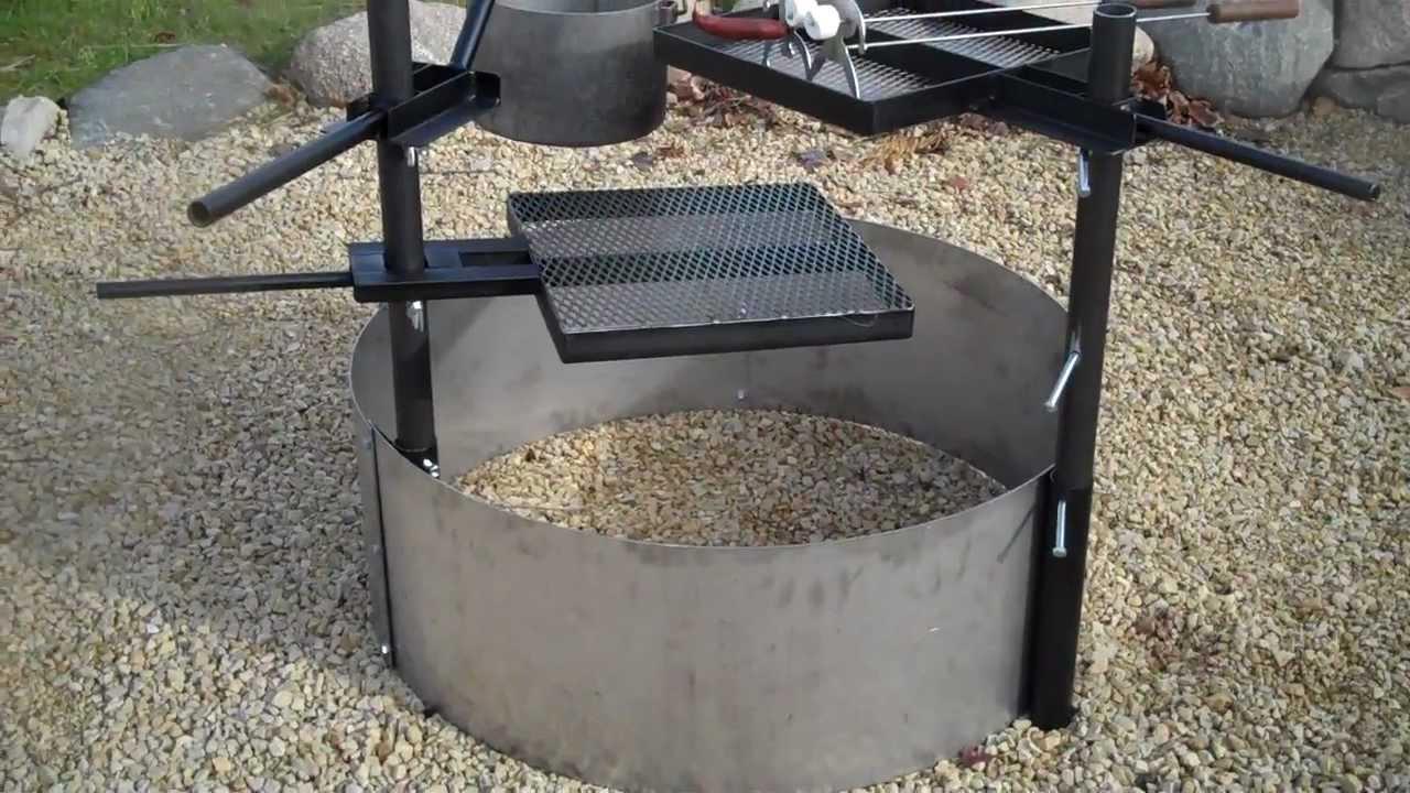 Fire Pit Steel Ring Insert