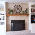 Fireplace Mantel Shelf DIY