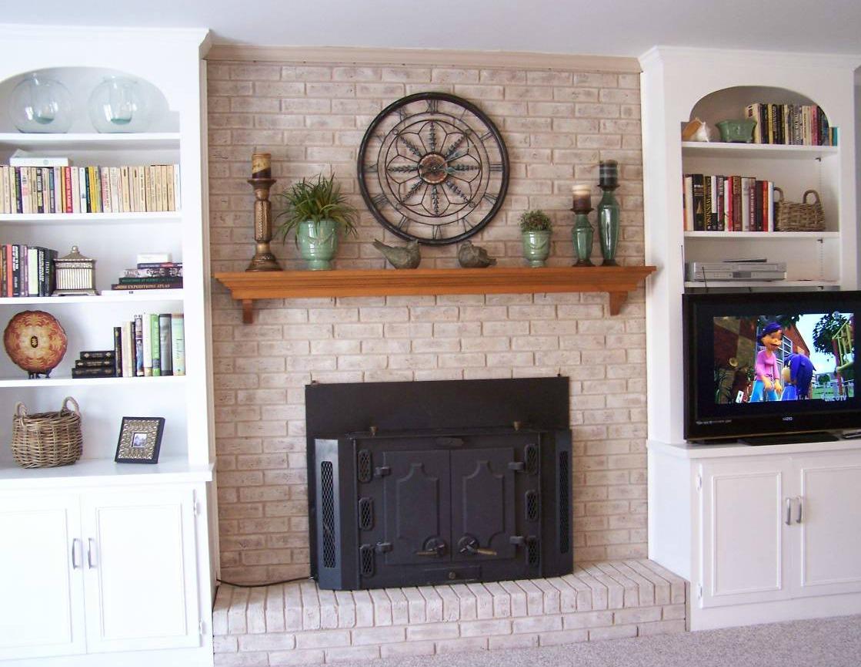 diy fireplace mantel for your fireplace fireplace design. Black Bedroom Furniture Sets. Home Design Ideas