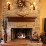 Fireplace Stacked Stone Veneer