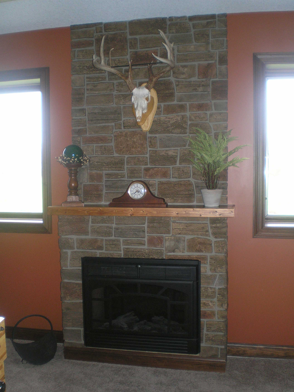 Fireplace Stone Veneer Panels